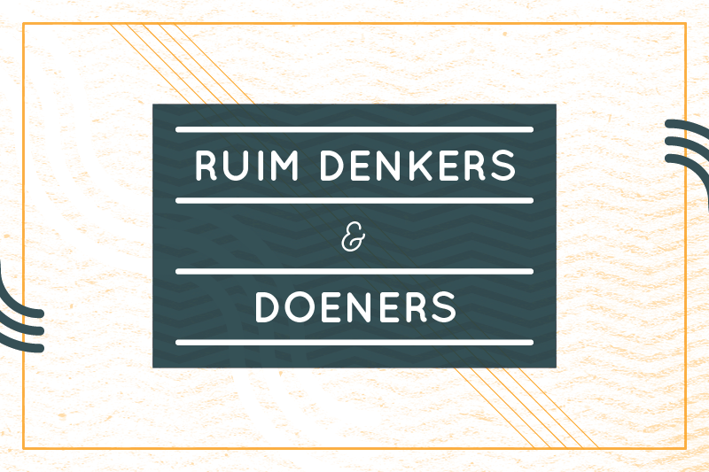 RUIM DENKERS EN DOENERSontdek verborgen ondernemers in Den Bosch